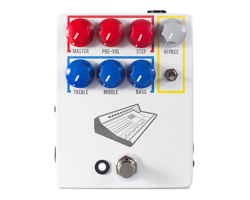 JHS Pedals Now Shipping Colour Box Preamp Pedal
