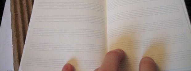 Blank Staff Paper