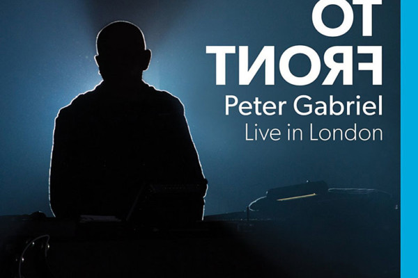"""Peter Gabriel Releases """"Back to Front"""" Concert DVD"""