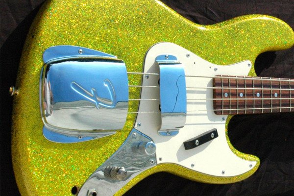 """Bass of the Week: James Colby's Homemade """"Glitzy"""" Bass"""