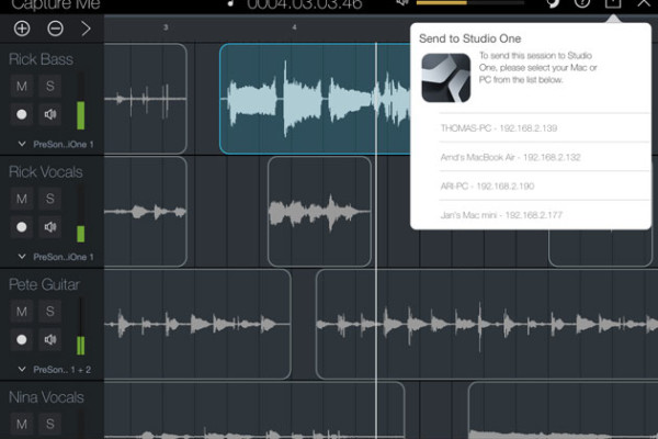 PreSonus Introduces Capture for iPad and Capture Duo