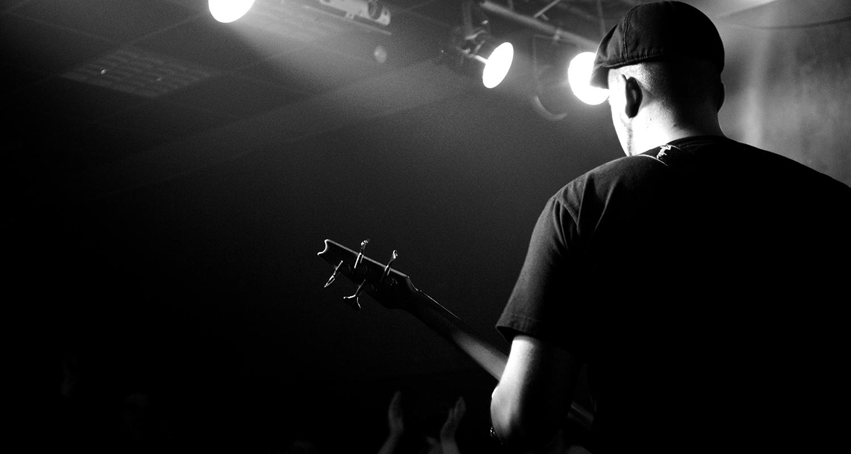Bassist in the spotlight