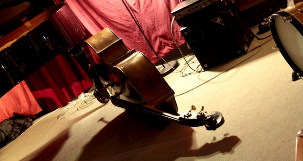 Double bass photo by Andrew Lorien