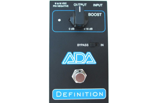 ADA Amps Introduces Definition Preamp