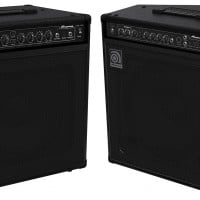 Ampeg Now Shipping Revamped BA-112 and BA-115 Bass Combos