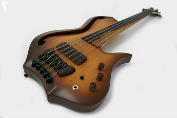 Aries Basses Introduces the Aman II Bass