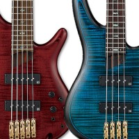 Ibanez Adds New Color Finishes to SR Premium Series Basses