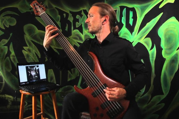 """Dominic """"Forest"""" Lapointe: Beyond Creation's """"Elusive Reverence"""" Bass Playthrough"""