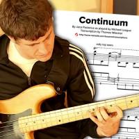 """Bass Transcription: Michael League's """"Continuum"""""""