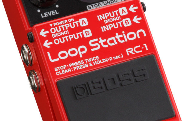 BOSS Announces RC-1 Loop Station