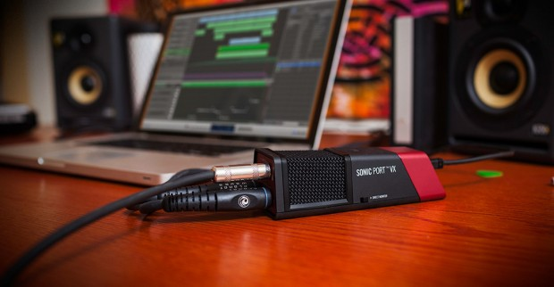 Line 6 Sonic Port VX Audio Interface in action
