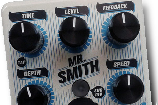 MBS Effects Releases the Mr. Smith Delay Pedal