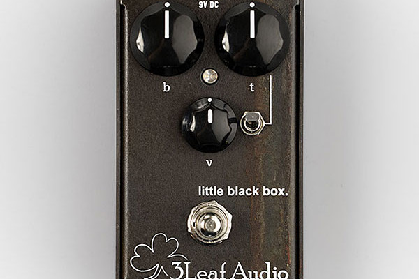 3Leaf Audio Announces Little Black Box EQ Pedal