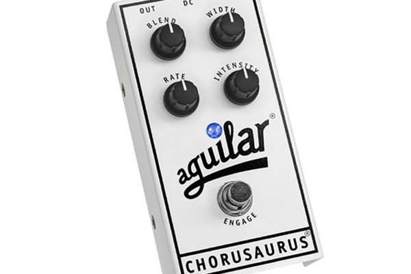 Aguilar Amplification Announces Chorusaurus Bass Chorus Pedal