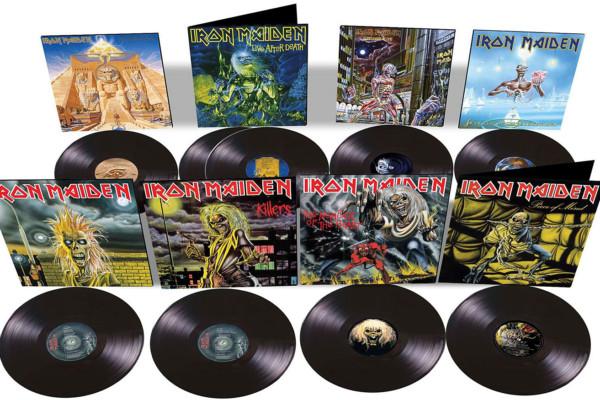 Iron Maiden 80's Albums, Singles Reissued on Vinyl