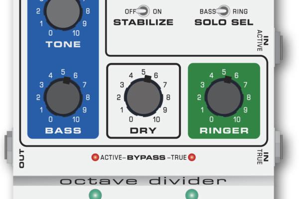 MU-FX Reissues Octave Divider Pedal