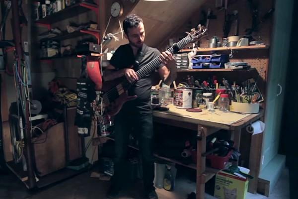 """Josh Cohen: Toots Thielemans' """"Bluesette"""" Solo Bass Arrangement"""