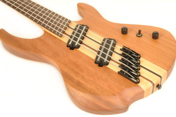 Brice Introduces Defiant 53437 5-String Multi-Scale Bass