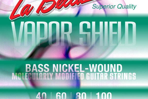 La Bella Unveils Vapor Shield Treated Bass Strings