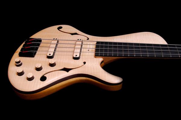 Bass of the Week: Turan Guitars TG Semi-Hollow Bass