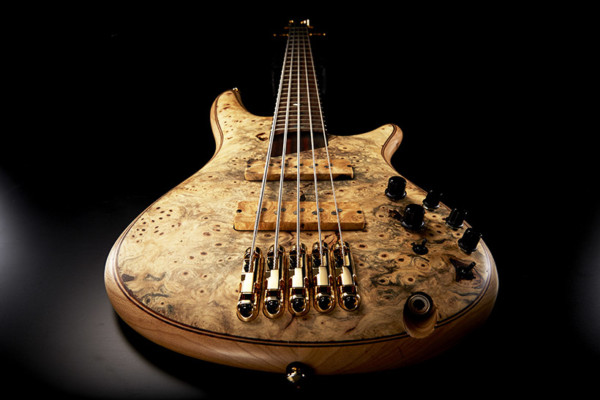 Ibanez Unveils Limited Edition Buckeye Burl SR Premium Bass