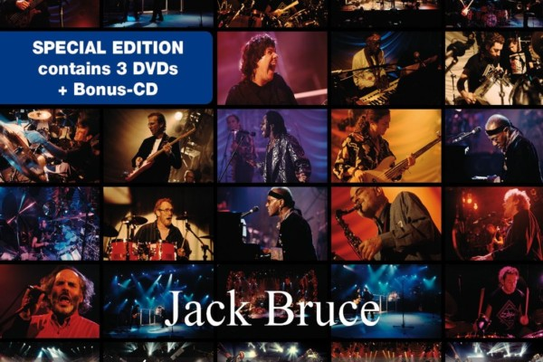 Jack Bruce's 50th Birthday Concerts Released on CD and DVD