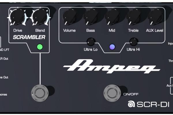 Ampeg Unveils SCR-DI Bass DI Pedal at NAMM