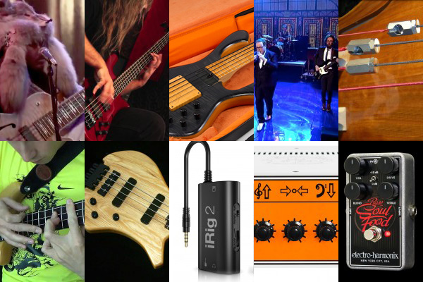 Weekly Top 10: Bass Gear News from NAMM, GigBlade Reviewed, Top Bass Videos, Two Handed Tapping & Hand Independence and More