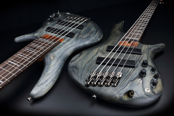 Ibanez Adds Fanned Fret SR Models to Bass Workshop Series