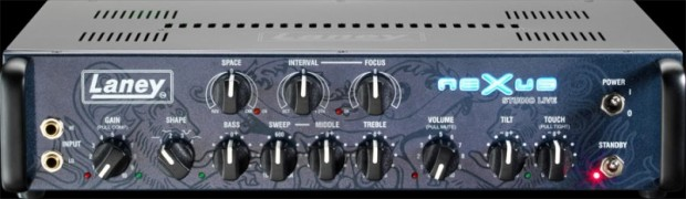 Laney Nexus Studio Live Bass Amp front
