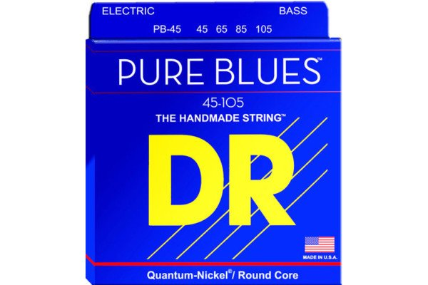 DR Strings Introduces Pure Blues Bass Strings