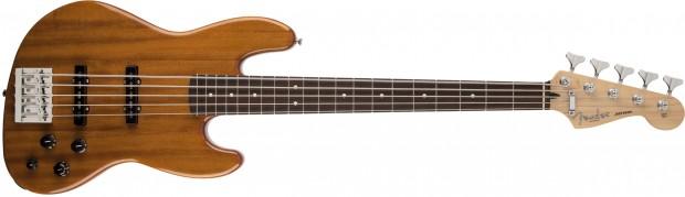 Fender Deluxe Active Jazz Bass V Okoume