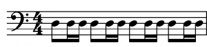 Rhythm pattern