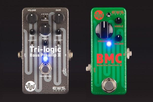 EWS Tri-Logic Bass Preamp III and Bass Mid Control 2