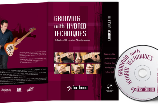 """Enrico Galetta Debuts as Bass Instruction Author with """"Grooving with Hybrid Techniques"""""""