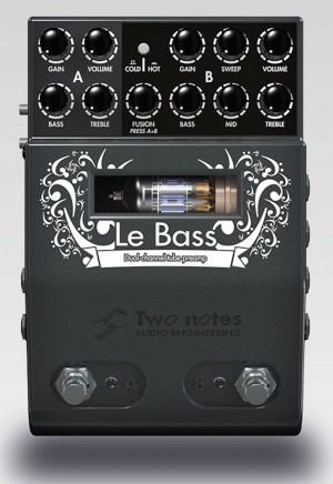 Two Notes Audio Engineering Le Bass Preamp Pedal