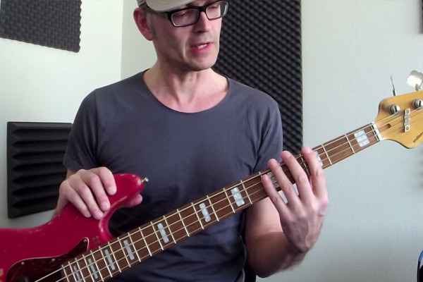 Fast Fretboard Position Shifting on Bass