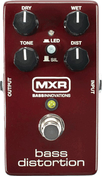 MXR M85 Bass Distortion pedal