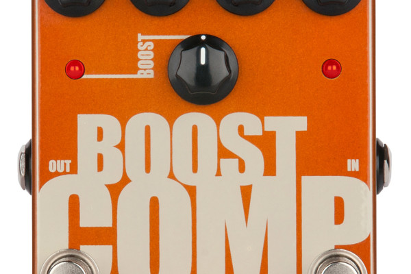 Tech 21 Boost Comp Pedal Now Shipping