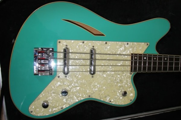 Eastwood Guitars Announces Surfcaster Bass