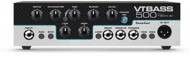 Tech 21 VT Bass 500 Bass Amp Head