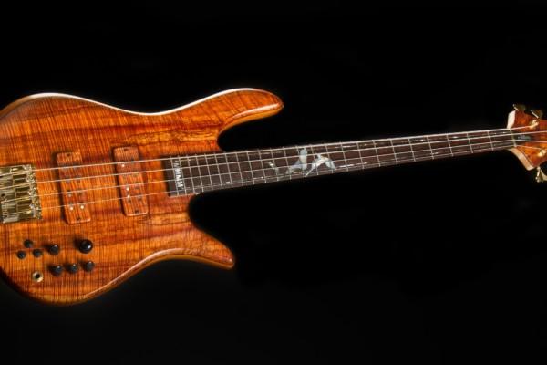 "Bass of the Week: Fodera Flame Koa Monarch 4 Elite ""#4000"""