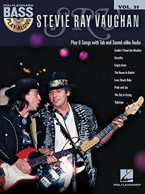 Stevie Ray Vaughan: Bass Play-Along Volume 51