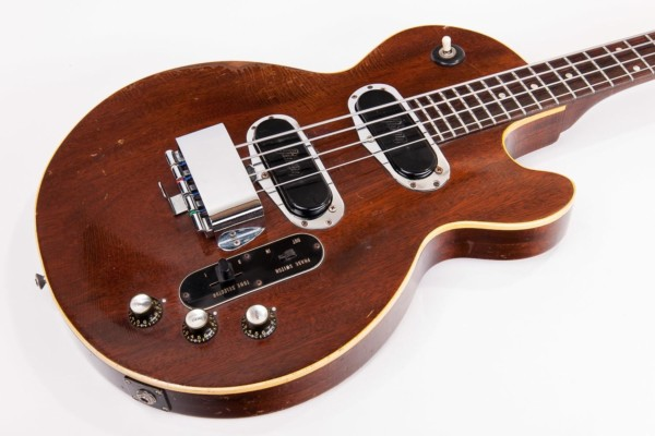 Old School: 1969 Gibson Les Paul Bass