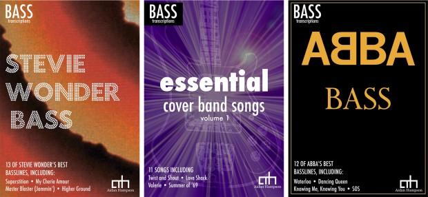 Aidan Hampson's Bass Transcription Books