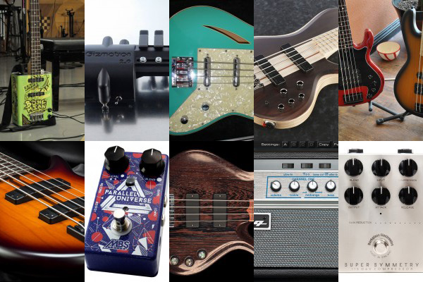 Bass Gear Roundup: The Top Gear Stories in August 2015