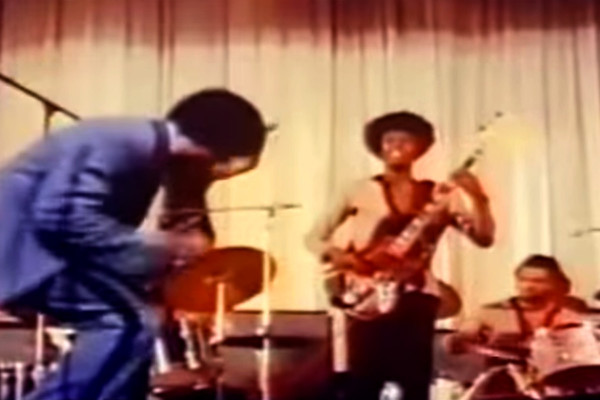 James Brown (Featuring Bootsy Collins): Live at the Olympia, 1971