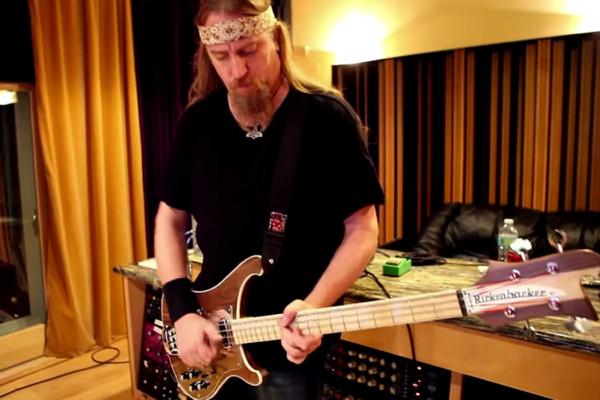 """Steve Di Giorgio: Bass Playthrough of Christos Nikolaou's """"Calling"""""""