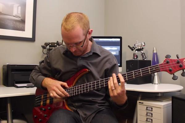 Stuart Clayton: Für Elise Solo Bass Performance