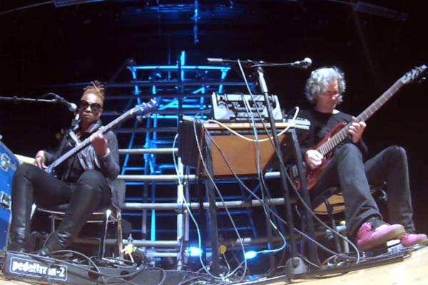 Divinity Roxx and Steve Lawson: Masterclass Improv Jam